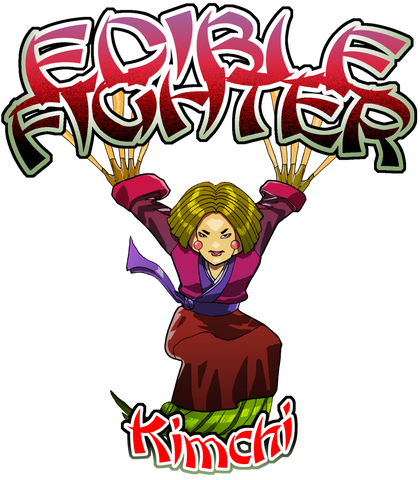 Edible Fighter - Kimchi Racerback Tank Top