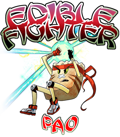 Edible Fighter - Pao Racerback Tank Top