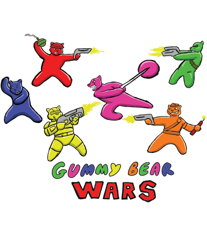 Gummy Bear Wars Pullover