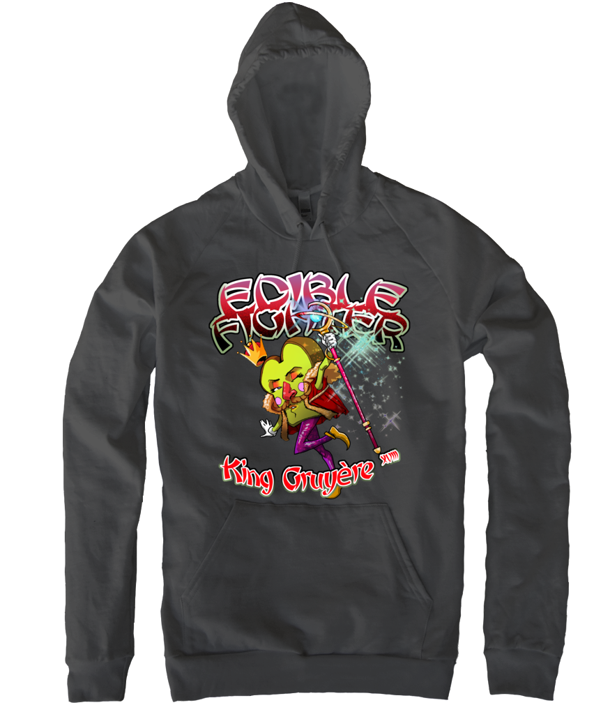 Edible Fighter - King Gruyère XVIII Pullover