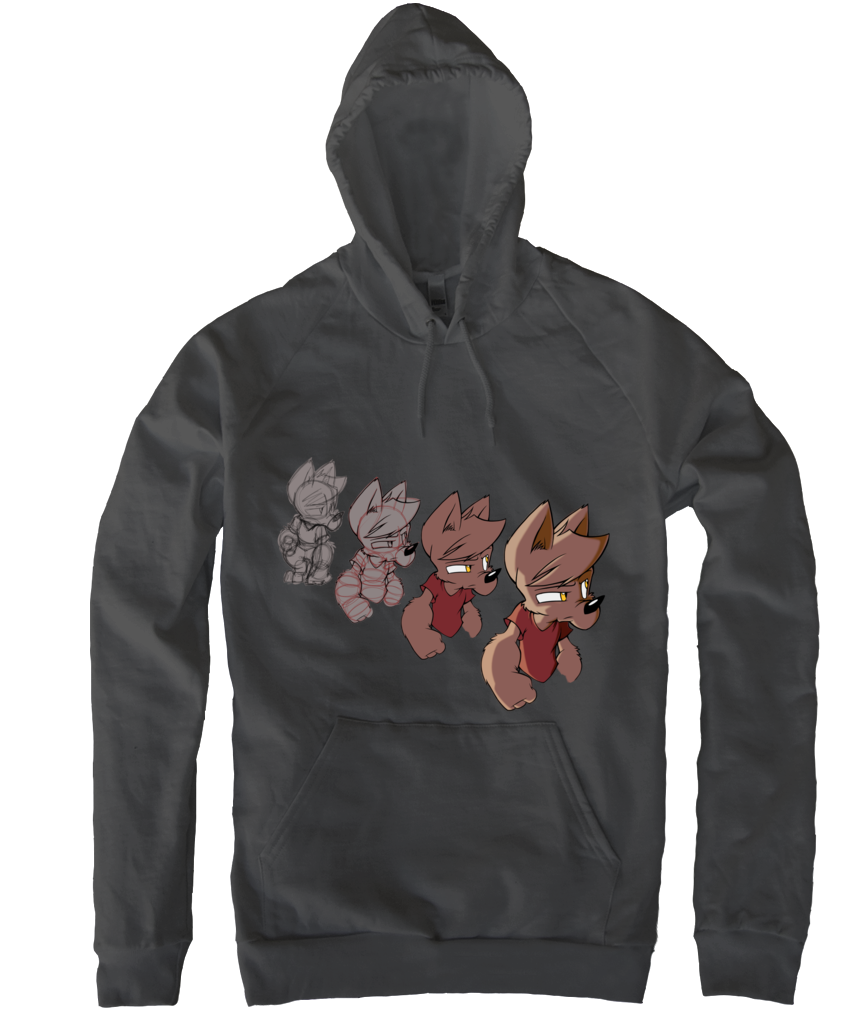 Wolfy Progression Pullover