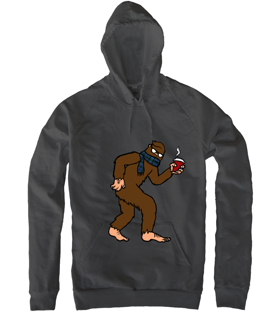 Hipster Sasquatch Pullover