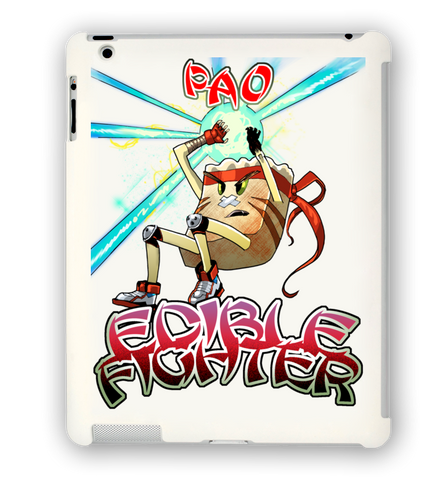 Edible Fighter - Pao iPad Case