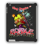 Edible Fighter - King Gruyère XVIII iPad Case