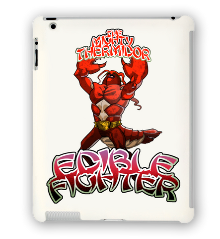 Edible Fighter- The Mighty Thermidor iPad Case