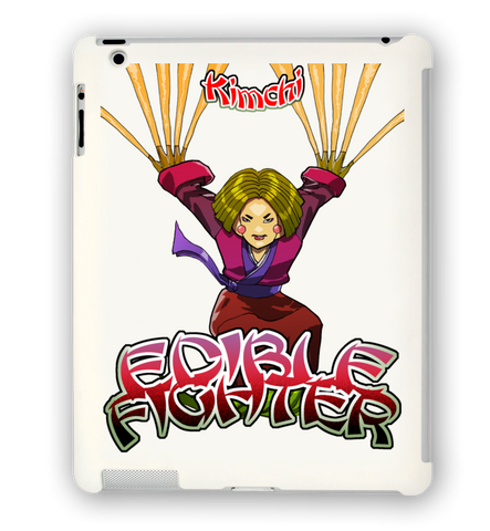 Edible Fighter - Kimchi iPad Case