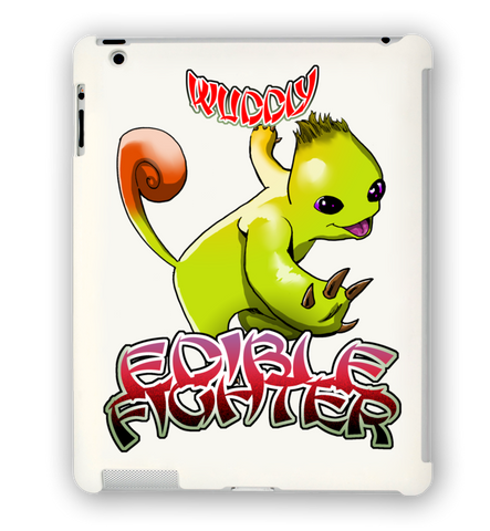 Edible Fighter - Wuddly iPad Case