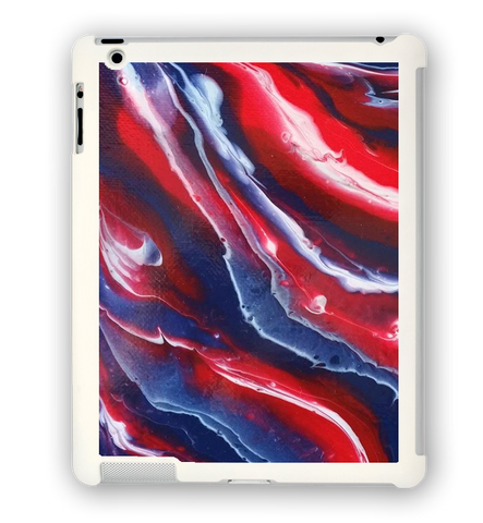 Red, White, and Bruised iPad Case