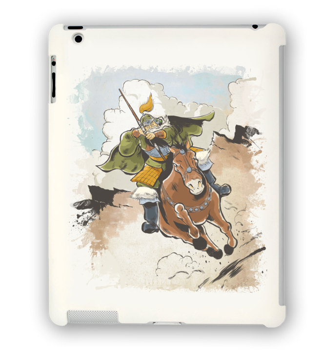 Conquest of the Three Kingdoms: Huang Zhong iPad Case