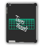 Tower Threads Neon Grid iPad Case