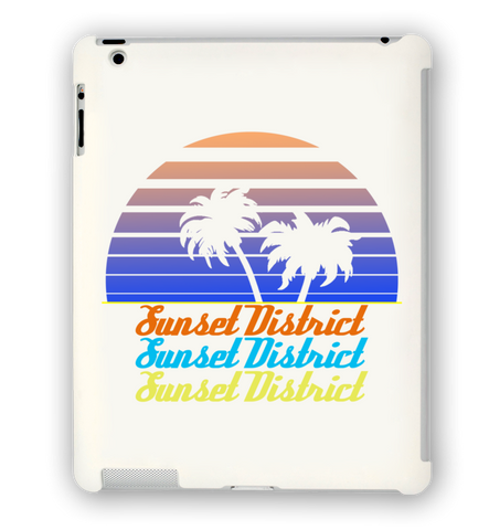 Sunset District iPad Case