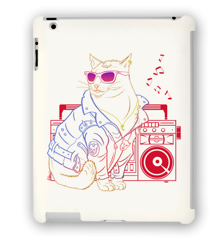 Bad Cat iPad Case