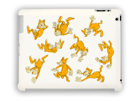 Falling Critters iPad Case