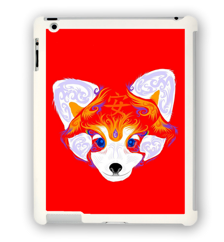 Red Panda Serenity iPad Case