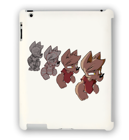 Wolfy Progression iPad Case