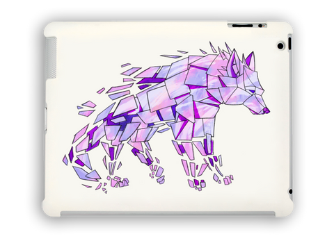 Purple Wolf iPad Case