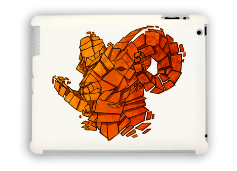 Orange Ram iPad Case