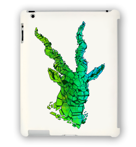 Green Blackbuck iPad Case