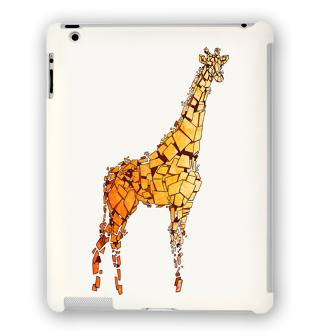 Yellow Giraffe iPad Case