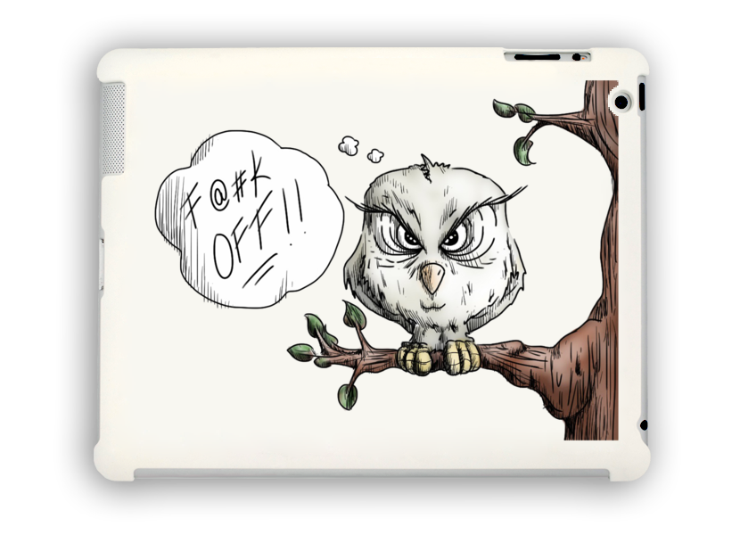 F@#K Off Nature iPad Case