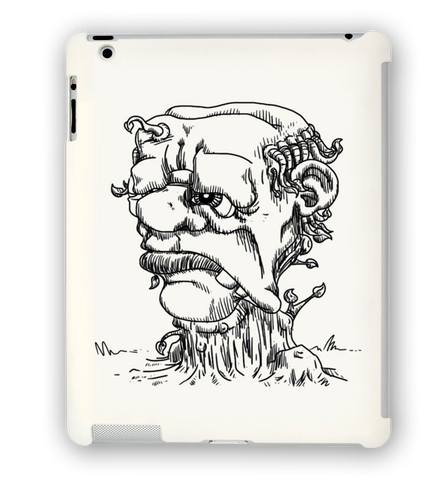 Grump Stump iPad Case