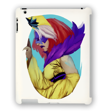 Queen in Yellow iPad Case