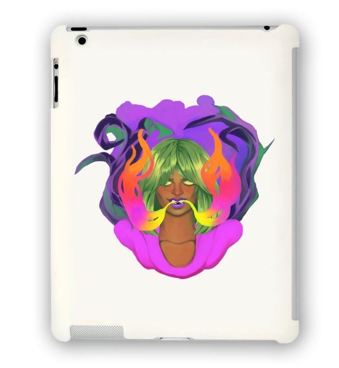 The Flavour Out of Space iPad Case