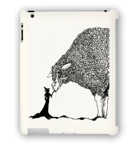 Sheep & The Witch iPad Case