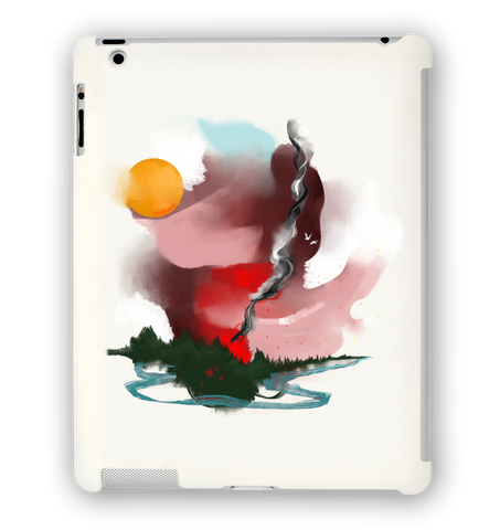 Forest Fire iPad Case
