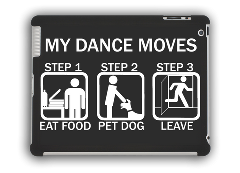 Dance Moves iPad Case Black