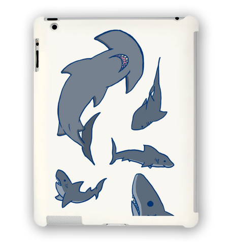 Shark Party iPad Case