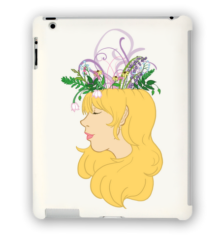 Flower Crown iPad Case