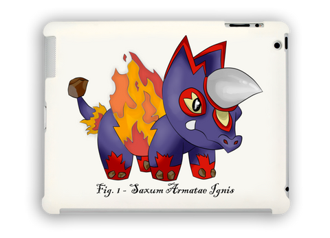 Firoceros iPad Case