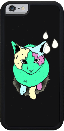 Drip Cat iPhone Case
