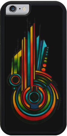 Rainbow Key iPhone Case