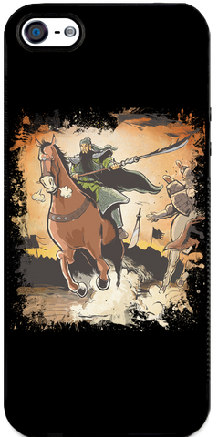 Conquest of the Three Kingdoms: Guan Yu iPhone Case