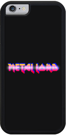 Metal Lord iPhone Case
