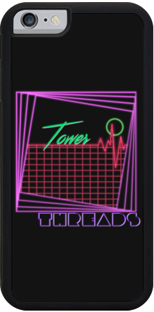 Tower Threads Linescape iPhone Case