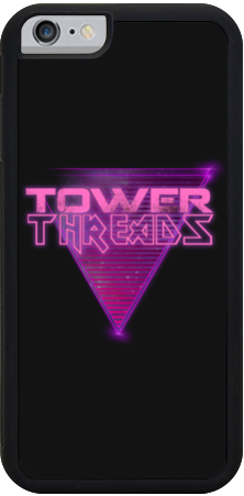 Tower Threads Neospace iPhone Case