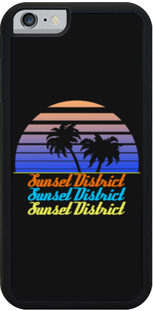 Sunset District iPhone Case
