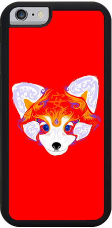 Red Panda Serenity iPhone Case