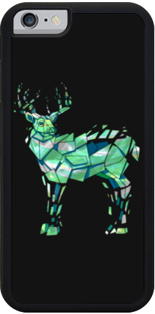 Green Deer iPhone Case