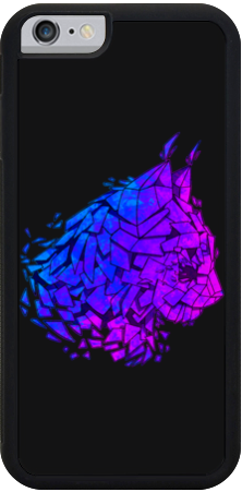 Violet Lynx iPhone Case