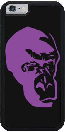Purple Gorilla iPhone Case