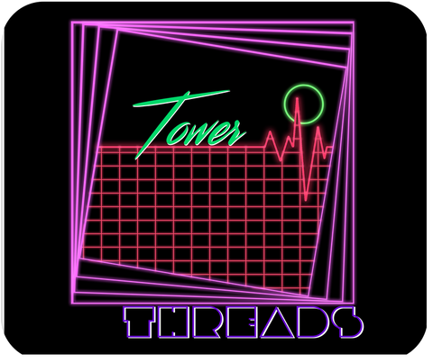 Tower Threads Linescape Mousepad
