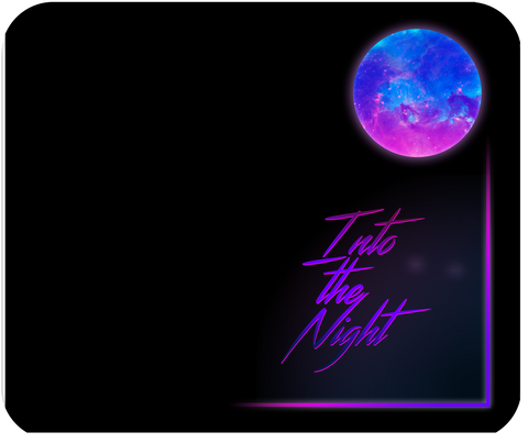 Into the Night Mousepad