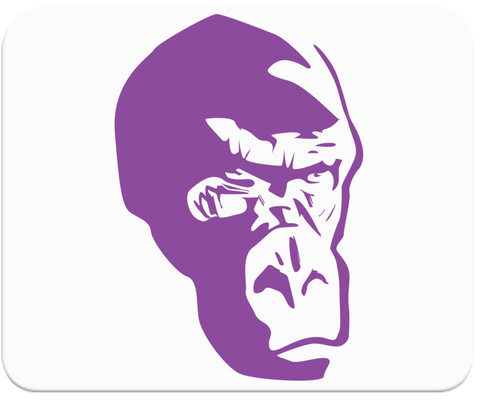 Purple Gorilla Mousepad