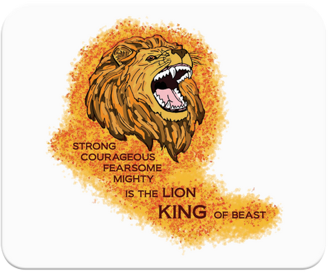 King Lion Mousepad