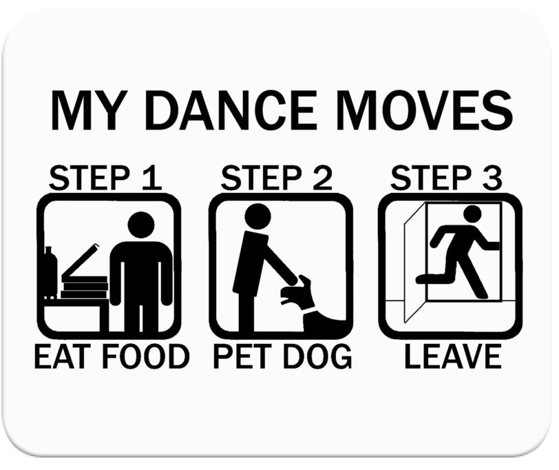 Dance Moves Mousepad
