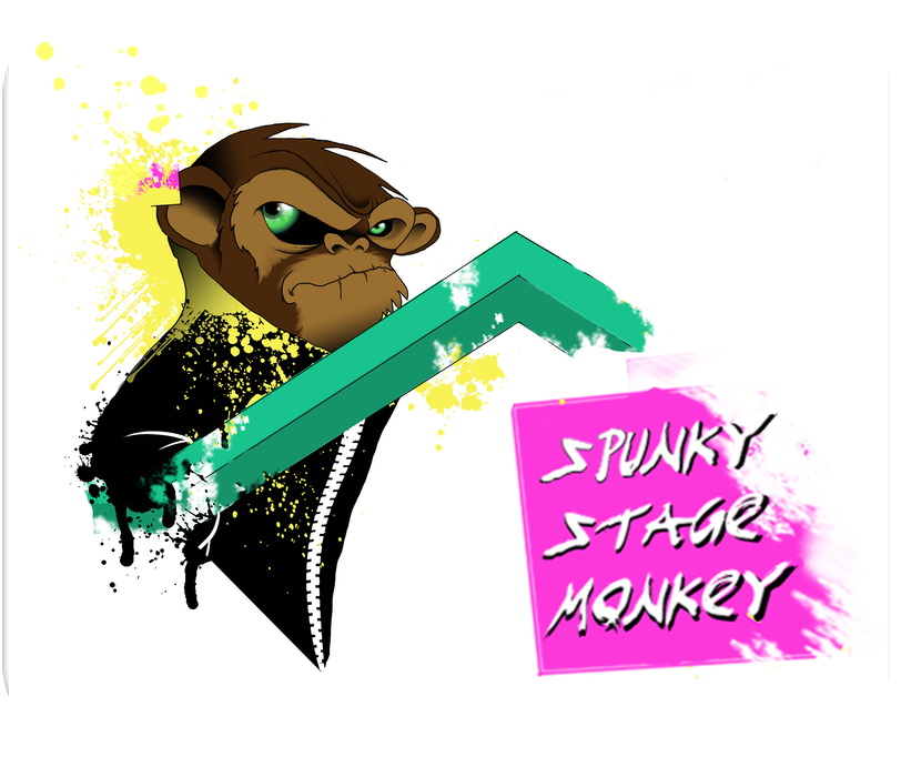 Spunky Stage Monkey Mousepad